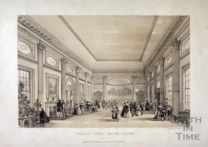 Grand Pump Room, Bath 1841