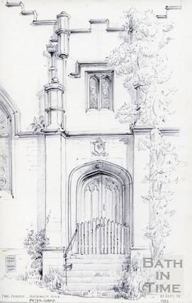 The Priory, Bathwick Hill, Bath 23 Sep 1972