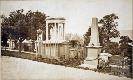 Bath Abbey Cemetery, Bath c.1880