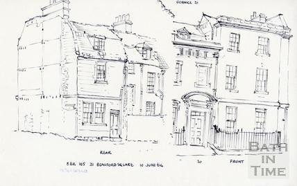 21, Beauford Square, Bath, 10 Jun 1964