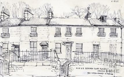 8 to 11, Beechen Cliff Place, Calton Road, Bath 1964