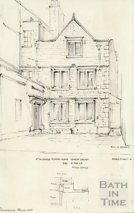 Saxon Court, Broad Street, Bath 6 Feb 1965