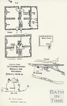 Brassmill Lane, Bath Locksbrook, 18 Feb 1964