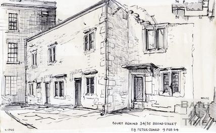 34/35, Broad Street, Bath 9 Feb 1964