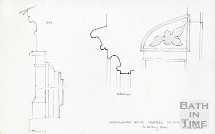 Coromandel House, Camden Row, Bath 1972