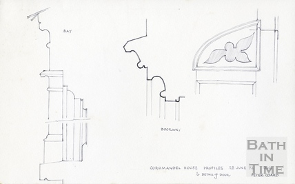 Coromandel House, Camden Row, Bath, 28 June 1972