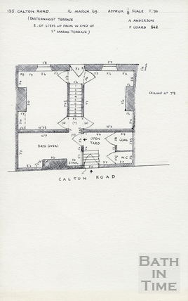 135, Calton Road, Bath, 16 March 1969