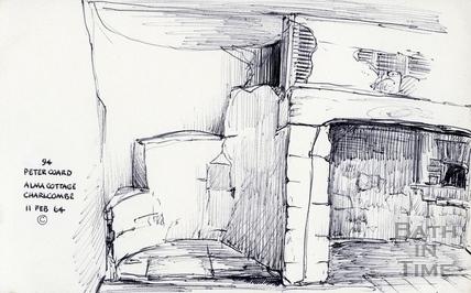Alma Cottage, Charlcombe, Bath 11 February 1964
