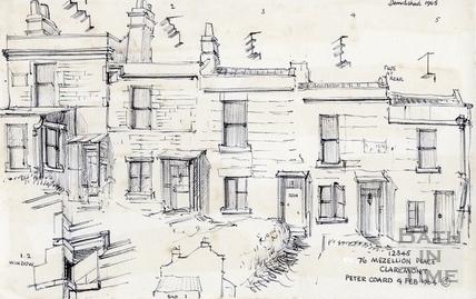 1  to 5, Mezellion Place, Camden Road, Bath 1964
