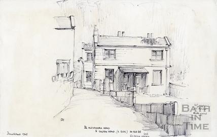 32 Alexandra Road, Bath and Calton Road, Bath 16 Feb 1965