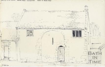 Manor Farm, Claverton 1966