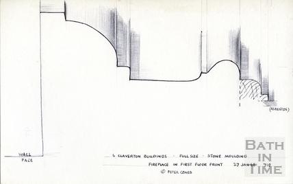 6, Claverton Buildings, Widcombe, Bath 1968