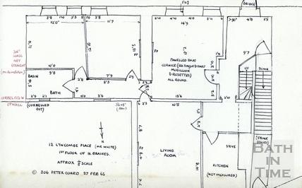 12 Lyncombe Place, Claverton Street, Bath 27 Feb 1965