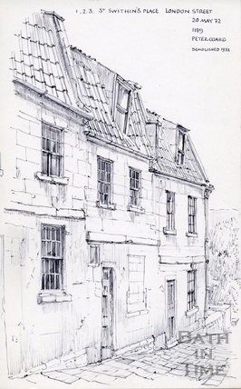 1 to 3, St. Swithin's Place, London Street, Bath 1972