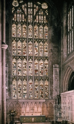 East window, Bath Abbey, Bath