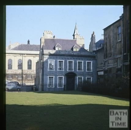 5, Beauford Square, Bath c.1965