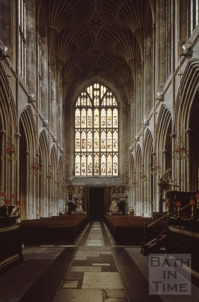 The nave, Bath Abbey, Bath