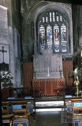 Norman chancel, Bath Abbey, Bath