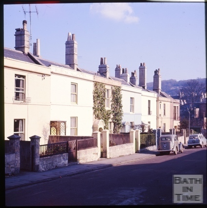 Beaufort Place, Lambridge, Bath c.1965