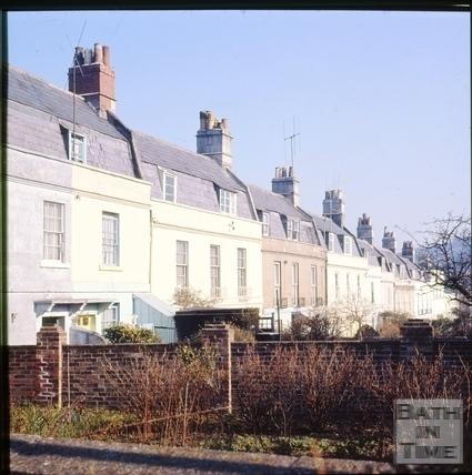 Richmond Place, Bath c.1965