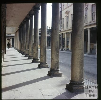 Colonnade, Bath Street, Bath c.1965