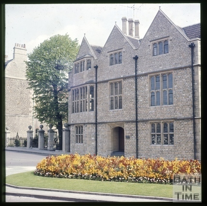 Abbey Church House, 24 & 25, Westgate Buildings, Bath c.1965