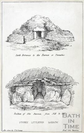 The Long Barrow at Stoney Littleton, near Wellow