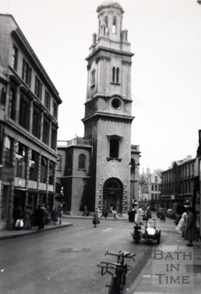 St. James's Church, Bath 1961