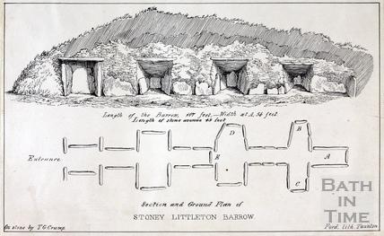 The Long Barrow at Stoney Littleton, near Wellow