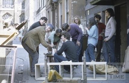 2, Abbey Green, Bath 1971