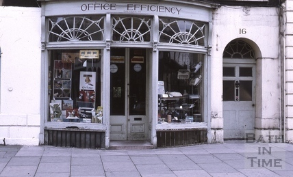 Office Efficiency, 16, Argyle Street, Bath 1972