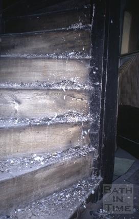 Stairs, 2a, Abbey Green, Bath 1971