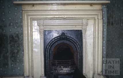 Fireplace, 2, Abbey Green, Bath 1971