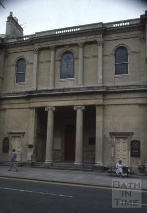 Argyle Chapel, Argyle Street, Bath 1986
