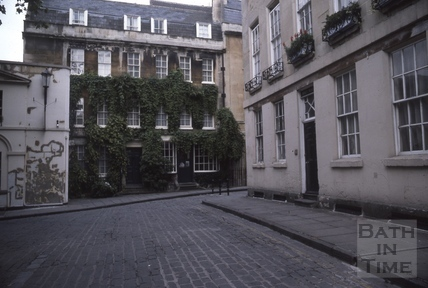 Abbey Green and Abbey Street, Bath 1986
