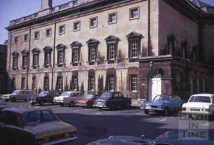 Assembly Rooms from Alfred Street, Bath 1975