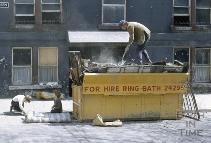 2, Abbey Green, Bath 1971