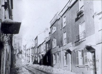 Ballance Street from Julian Road, Bath 1963
