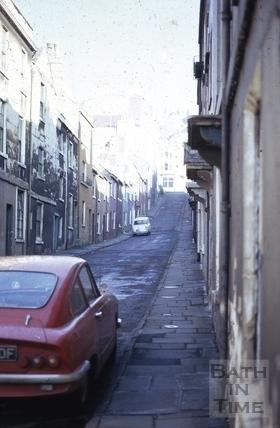 Ballance Street, Bath 1970