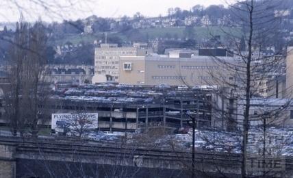 Avon Street Car Park, Bath 1989