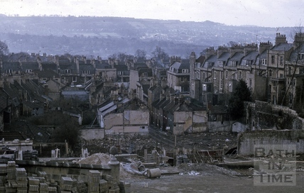 Ballance Street area, Bath 1968