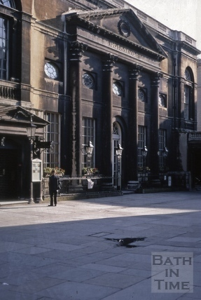 The Pump Room, Abbey Church Yard, Bath 1969