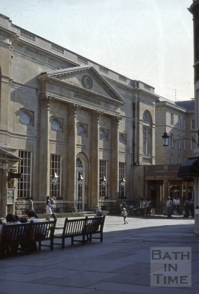 The Pump Room, Abbey Church Yard, Bath 1979
