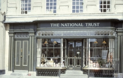 The National Trust shop, 14, Abbey Church Yard, Bath 1980