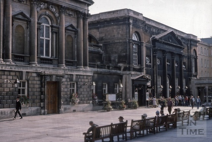 Concert Hall and Pump Room, Abbey Church Yard, Bath 1975