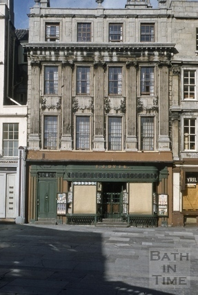 Marshall Wade's House, 14, Abbey Church Yard, Bath 1956