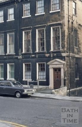 7, Alfred Street, Bath 1973
