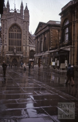 Abbey Church Yard, Bath 1975