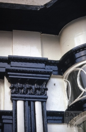 Detail of National Trust shop, 14, Abbey Church Yard 1968