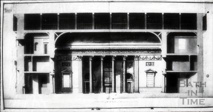 Assembly Rooms designs by Robert Adam, Bath